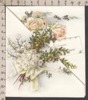 96790GF/ MARIAGE, Roses Et Muguet - Fêtes - Voeux
