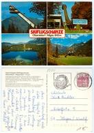 2) AK Heini-Klopfer Skiflugschanze Skisprungschanze Oberstdorf Allgäu Birgsautal Skispringen Deutschland Bayern - Wintersport