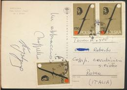 °°° 13171 - POLAND - WARSZAWA - PALAC KULTURY I NAUKI - 1978 With Stamps °°° - Polonia