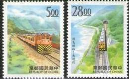 1997 Around-The-Island Railway Stamps Train Railroad Locomotive Tunnel - History
