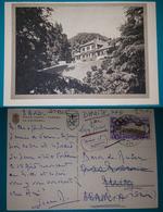 Cartolina Villa Ponti - Varese La Fattoria. Viaggiata - Varese