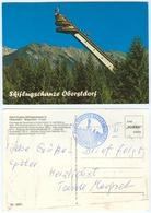 7) AK Heini-Klopfer Skiflugschanze Skisprungschanze Oberstdorf Allgäu Birgsautal Skispringen Deutschland Bayern - Wintersport