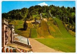 1) AK Skisprungschanze Garmisch-Partenkirchen Olympia-Skistadion Sportplatz DSV Deutschland Bayern Skispringen - Wintersport