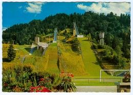3) AK Skisprungschanze Garmisch-Partenkirchen Olympia-Skistadion Sportplatz DSV Deutschland Bayern Skispringen - Wintersport