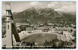 4) AK Skisprungschanze Garmisch-Partenkirchen Olympia-Skistadion Sportplatz DSV Deutschland Bayern Skispringen - Wintersport