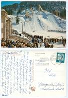 AK Skisprungschanze Garmisch-Partenkirchen Olympia-Skistadion Bayern Winter Snow Deutschland Skispringen - Wintersport