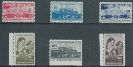 Turchia Turkey 1943 - The Complete MNH Series - 1921-... Republic