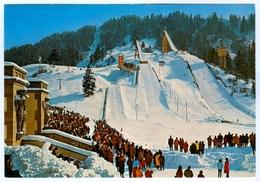 AK Skisprungschanze Garmisch-Partenkirchen Olympia-Skistadion Eckbauerbahn DSV Bayern Deutschland Skispringen - Wintersport