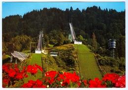 AK Skisprungschanze Garmisch-Partenkirchen Olympia-Skistadion Skispringen Bayern Deutschland Skispringen - Wintersport