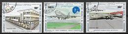 CAMEROUN 1981 CAMEROON AIRLINES YVERT. 666-668 USATA VF - Camerun (1960-...)