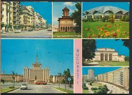 °°° 13179 - ROMANIA - BUCURESTI - VIEWS - 1971 With Stamps °°° - Romania