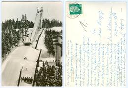 3) AK Skisprungschanze Am Rennsteig Im Kanzlersgrund Oberhof In Thüringen DDR WSV - Wintersport