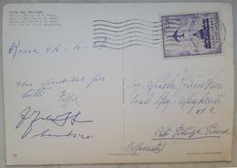 CITTA' DEL VATICANO - Basilica E Piazza San Pietro - Bollo Posta Aerea Vaticana L.20 Stamp 1964 - Vatican