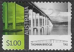 Australia 2016 Bridges $1 Type 2 Self Adhesive Good/fine Used [36/30117/ND] - 2010-... Elizabeth II