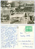 AK Skisprungschanze Am Rennsteig Oberhof Obere Schweizerhütte Schuderbachswiese DDR - Wintersport