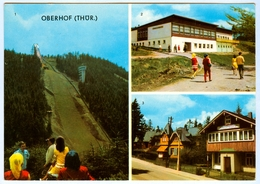Skisprungschanze Am Rennsteig Kanzlersgrund Oberhof Jugendherberge Albert Kayser - Wintersport