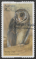 Australia 2016 Owls $1 Type 2 Self Adhesive Good/fine Used [39/31897/ND] - 2010-... Elizabeth II