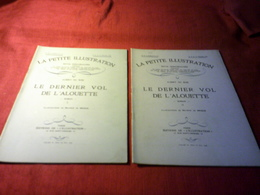 LA PETITE ILLUSTRATION °° DU 21 JUILLET   1928 /  LE DERNIER VOL DE L'ALOUETTE   /  ALBERT DU BOIS - Libri, Riviste, Fumetti