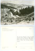 3) AK Skisprungschanze Klingenthal/Sa. Große Aschbergschanze Vogtland Sachsen DDR Skispringen Sessellift - Wintersport