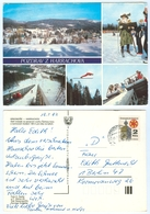 AK Skisprungschanze Harrachov Skispringen Riesengebirge Krkonoše Rübezahl ČSSR - Wintersport