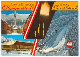 AK Skisprungschanze Innsbruck Berg Isel Olympia-Schanze Eisstadion Österreich Tirol Skispringen - Wintersport