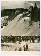 AK Skisprungschanze Špindleruv Mlýn Spindlermühle Riesengebirge Krkonoše Winter Tschechien Czech Republic - Wintersport
