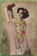 Lisboa - La Perla - Singer - Bordado - Carte Brodée - Broderie - Embroidery - Publicidade - Advertising - Bestickt