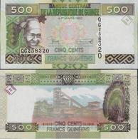 Guinea 2015 - 500 Francs - Pick NEW UNC - Guinée