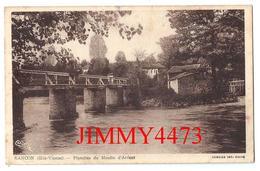 CPA - Planches Du Moulin D' Ardent - RANCON 87 Haute Vienne - Edit. CIM  COMBIER  MACON - Rilhac Rancon
