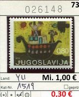 Jugoslawien - Yougoslavie - Jugoslavija - Michel 1519 - ** Mnh Neuf Postfris - 1945-1992 Sozialistische Föderative Republik Jugoslawien