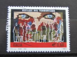 *ITALIA* USATI 2006 - VITTIME DEL TERRORISMO - SASSONE 2925 - LUSSO/FIOR DI STAMPA - 6. 1946-.. Repubblica
