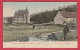 Solre-Saint-Géry - Le Château De La Forge ... Jolie Carte Couleur - 1905 ( Voir Verso Griffe Philatéliste ) - Beaumont