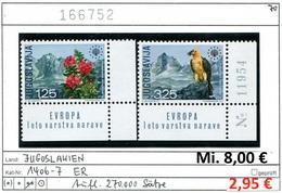 Jugoslawien - Yougoslavie - Jugoslavija - Michel 1406-1407 - ** Mnh Neuf Postfris - 1945-1992 Sozialistische Föderative Republik Jugoslawien