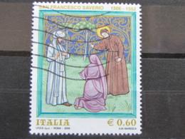 *ITALIA* USATI 2006 - SAN FRANCESCO SAVERIO - SASSONE 2928 - LUSSO/FIOR DI STAMPA - 6. 1946-.. Repubblica