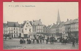 Ath - La Grand'Place ... Superbe Animation - 1915  (voir Verso ) - Ath