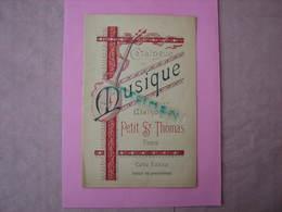 Catalogue MUSIQUE De La Maison Du Petit St. Thomas 16 Pages 16X24 Etat Neuf ( Vers 1910/1920) - Musique