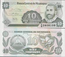 Nicaragua 1991 - 10 Centavos - Pick 169 UNC - Nicaragua