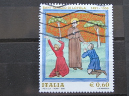 *ITALIA* USATI 2006 - SANT'IGNAZIO DI LOYOLA - SASSONE 2927 - LUSSO/FIOR DI STAMPA - 6. 1946-.. Repubblica