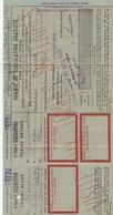 PERMIS DE CIRCULATION GRATUITE...TRAJET ALLER  RETOUR  VISITE AUX TOMBES MILITAIRES 1949 - Titres De Transport