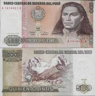 Peru 1987 - 500 Intis - Pick 134 UNC - Pérou