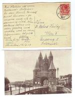 """Niederlande, 1927, AK Von """"Haarlem, Amsterdamsche Poort"""" (10425W) - Haarlem"""