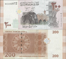 Syria 2009 - 200 Pounds - Pick 114 UNC - Syrie