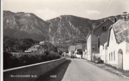 AK - NÖ - Maiersdorf (Bez. Wr. Neustadt) - Ortsansicht Mit Gasthof -1960 - Wiener Neustadt