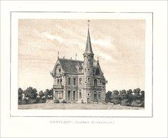 Vue Du Château D'Oostcamp En 1878 - Prints & Engravings