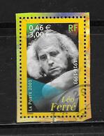 FRANCE 3392 Artistes De La Chanson Léo Ferré - France