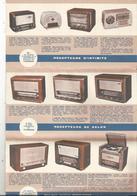 Publicité 10 Pages , Radio , électrophone ,téléviseur , Radio Automobile , DUCRETET THOMSON , 4 Scans ,  Frais Fr 1.75 E - Publicités