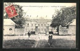 CPA Avesnes-le-Comte, Chateau De Barly - Avesnes Le Comte