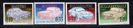Lot 93 - B 17 - Bulgarie ** N° 4109 à 4112 - Voitures - Bulgarien