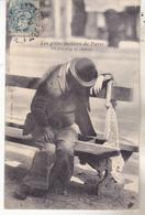75 Les P'tits Métiers De Paris-  Un Peu Trop De Chaleur. édit VP 52. Tb état Daté 1904. - Sets And Collections