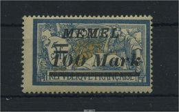 MEMEL 1922 Nr 118 Sauber Postfrisch (88296) - Memelgebiet